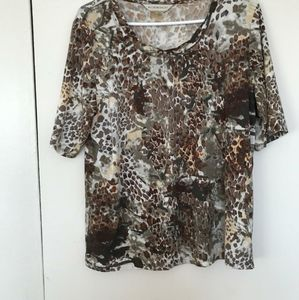 2 for 25 Leopard print blouse